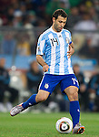 27.06.2010, Soccer City Stadium, Johannesburg, RSA, FIFA WM 2010, Argentina (ARG) vs Mexico (MEX), im Bild Javier Mascherano of Argentina during the 2010 FIFA World Cup South Africa. EXPA Pictures © 2010, PhotoCredit: EXPA/ Sportida/ Vid Ponikvar +++ Slovenia OUT +++