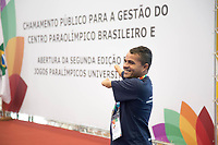 SÃO PAULO, SP, 27.07.2017- ALCKMIN-SP - O governador Geraldo Alckmin anuncia o chamamento público do Centro de Treinamento Paraolímpico Brasileiro, concedendo o Selo de Acessibilidade ao CT, no Centro Paraolimpico Brasileiro, na zona sul de São Paulo, na manhã desta quinta-feira, 27 (Foto: Patrícia Devoraes/ Brazil Photo Press)