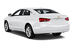 Car pictures of rear three quarter view of 2019 Chevrolet Impala 1LT Door Sedan Angular Rear
