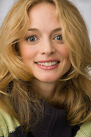 """Slug:  WK/Heather Graham.Date: 02-01-2007.Photographer: Mark Finkenstaedt FTWP.Location: Hotel Palomar. Washington, DC, .Caption: Heather Graham interviewed for her movie """"Grey Matters"""". For In Focus Feature with Michael O'Sullivan....© 2006 Mark Finkenstaedt. All Rights Reserved. LATimes WP News Service OUT unless under special arrangement with the photographer. Print only. No Transfers or thrid party sales. No loans to associates or partners for their use. No advertising or use by third party...www.mfpix.com 202-258-2613"""