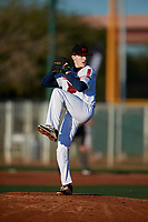 Stephen Moraski during the Under Armour All-America Tournament powered by Baseball Factory on January 18, 2020 at Sloan Park in Mesa, Arizona.  (Mike Janes/Four Seam Images)