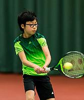 Wateringen, The Netherlands, March 9, 2018,  De Rijenhof , NOJK 12/16 years, Jessy Tan (NED)<br /> Photo: www.tennisimages.com/Henk Koster