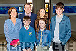 Brendán Meehan with his family after receiving his Confirmation in St Brendans Church on Thursday. Front l to r: Brendán and Cora Meehan.<br /> Back l to r:  Siobhan, Gary, Roisin and Gearoid Meehan