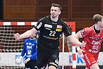 Essens Szczesny, Dennis jubelt beim Spiel in der Handball Bundesliga, Die Eulen Ludwigshafen - Tusem Essen.<br /> <br /> Foto © PIX-Sportfotos *** Foto ist honorarpflichtig! *** Auf Anfrage in hoeherer Qualitaet/Aufloesung. Belegexemplar erbeten. Veroeffentlichung ausschliesslich fuer journalistisch-publizistische Zwecke. For editorial use only.