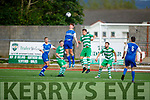 Action from Killarney Celtic v Killarney Athletic in the Greyhound Bar Cup Final.