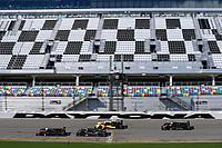 #60 Wulver Racing Ligier JS P3, LMP3: Bruce Hamilton, Tonis Kasemets, Scott Maxwell, #86 ONE Motorsports Ligier JS P3, LMP3: Dave House, Paul LaHaye, #47 Forty 7 Motorsports Norma M30, LMP3: Austin McCusker, Rodrigo Pflucker. #11 Simraceway Motorsports Ligier JS P3, LMP3: Maurice Smith, Nico Rondet