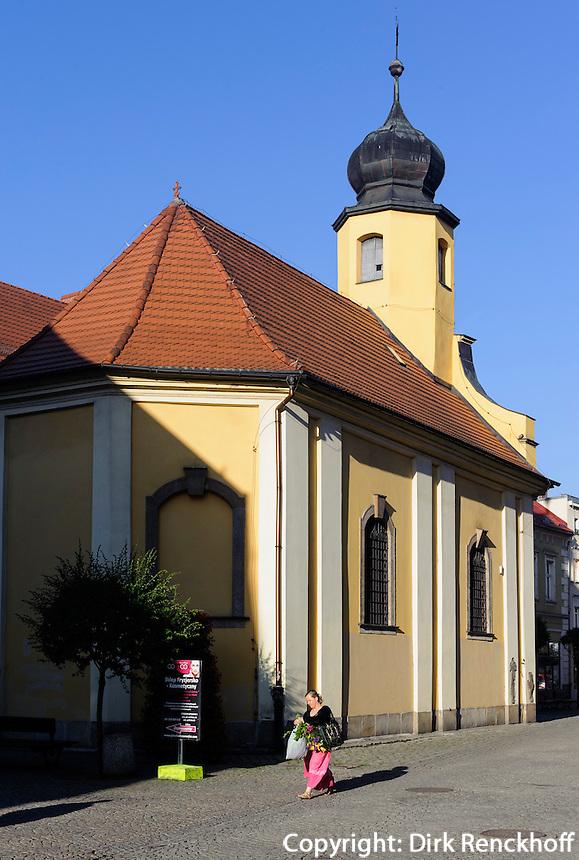 Peter und Paul-Kirche in Jelenia Gora (Hirschberg), Woiwodschaft Niederschlesien (Województwo dolnośląskie), Polen, Europa<br /> Peter and Paul church in Jelenia Gora, Poland, Europe