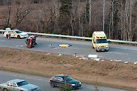 Accident mortel au Nord de Montreal -<br /> Deadly car  accident, North of Montreal