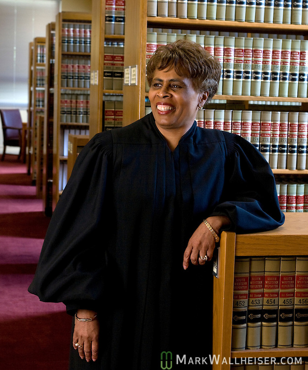 New Florida Supreme Court Chief Justice Peggy Quince at the Florida Supreme Court in Tallahassee, Florida May 27, 2008.     (Mark Wallheiser/TallahasseeStock.com)