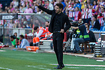 Diego Pablo Cholo Simeone coach of Atletico de Madrid during the match of La Liga between  Atletico de Madrid and Club Atletico Osasuna at Vicente Calderon  Stadium  in Madrid, Spain. April 15, 2017. (ALTERPHOTOS / Rodrigo Jimenez)
