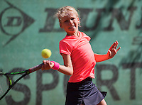Hilversum, Netherlands, August 8, 2016, National Junior Championships, NJK, Emily Schut   Maud Heddes<br /> Photo: Tennisimages/Henk Koster