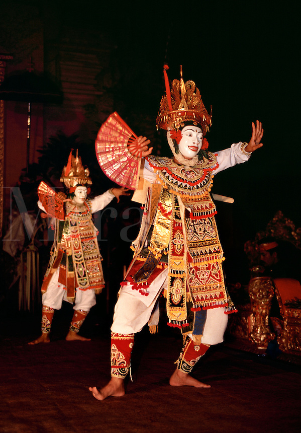Balinese dancer performing Bali Indonesia.