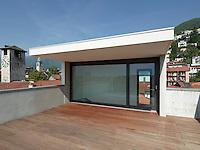 Switzerland, Locarno, Piazza Grande, Architects Canevascini & Corecco