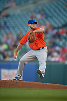 Syracuse Mets pitcher Casey Coleman (5) during an International League game against the Buffalo Bisons on June 29, 2019 at Sahlen Field in Buffalo, New York.  Buffalo defeated Syracuse 9-3.  (Mike Janes/Four Seam Images)