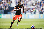 Rodrigo Moreno of Valencia CF in action during their La Liga match between Club Deportivo Leganes and Valencia CF at the Butarque Municipal Stadium on 25 September 2016 in Madrid, Spain. Photo by Diego Gonzalez Souto / Power Sport Images