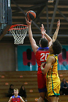 The Central Coast Crusaders play Sydney Comets in Round 8 of the Waratah League Youth League Men at Breakers Stadium on 29th of August, 2020 in Terrigal, NSW Australia. (Photo by James Quigley/LookPro)