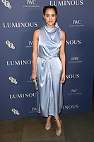 LONDON, UK. October 01, 2019: Natalie Emmanuel at the Luminous Gala 2019 at the Roundhouse Camden, London.<br /> Picture: Steve Vas/Featureflash