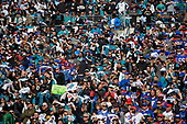 Jacksonville Jaguars fans during an NFL Wild-Card football game against the Buffalo Bills, Sunday, January 7, 2018, in Jacksonville, Fla.  (Mike Janes Photography)