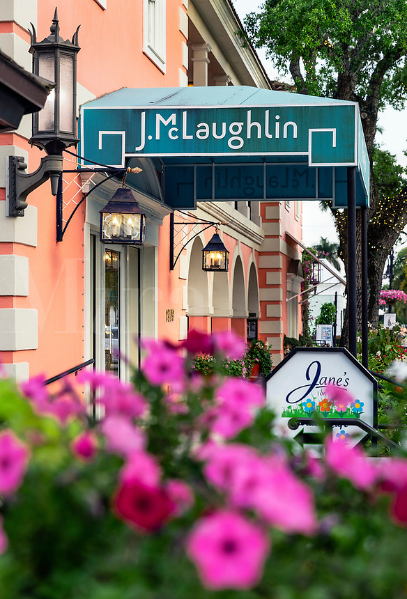 J McLaughlin fashion boutique, Naples, Florida, USA.