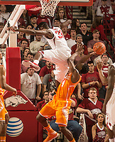 NWA Democrat-Gazette/ANTHONY REYES • @NWATONYR<br /> Arkansas against Tennessee Tuesday, Jan. 27, 2015 in Bud Walton Arena in Fayetteville. The Razorbacks won 69-64.
