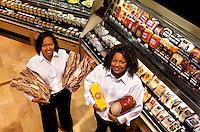 New Bloom Assistant Fresh Manger Wendy XXXXXX  (left) and Deli Manger Ashanti Martin.