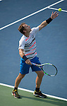 Michael Russell (USA) loses to Sam Querrey (USA) 6-4, 6-3 at the CitiOpen in Washington, D.C., Washington, D.C.  District of Columbia on July 29, 2014.
