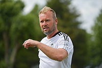 goalkeeper coach Jean Francois Gillet of Standard de Liege pictured during a friendly soccer game between Racing Club De Lens and Standard de Liege  during the preparations for the 2021-2022 season , on wednesday 7 of July 2021 in Billy Montigny , France . PHOTO DIRK VUYLSTEKE   SPORTPIX