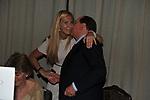 SILVIO BERLUSCONI CON MICHAELA BIANCOFIORE<br /> PREMIO GUIDO CARLI - TERZA  EDIZIONE<br /> PALAZZO DI MONTECITORIO - SALA DELLA LUPA<br /> CON RICEVIMENTO  HOTEL MAJESTIC   ROMA 2012