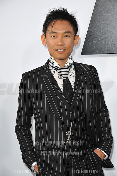 """Director James Wan at the world premiere of his movie """"Furious 7"""" at the TCL Chinese Theatre, Hollywood.<br /> April 1, 2015  Los Angeles, CA<br /> Picture: Paul Smith / Featureflash"""