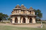 Lotus Mahal, Hampi, Karnataka, Indien