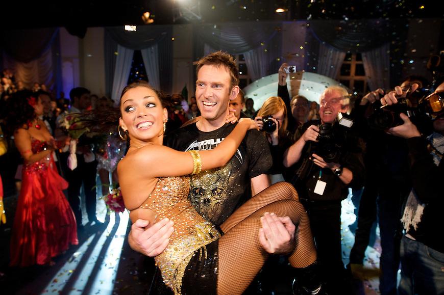 Oslo, 20091121. Skal vi danse, finalen. Carsten og elene