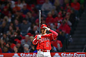 MLB: Los Angeles Angels designated hitter Shohei Ohtani in action against Tampa Bay Rays