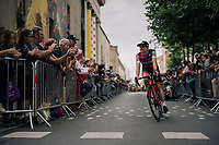 Simon Gerrans (AUS/BMC) at the Team presentation in La Roche-sur-Yon<br /> <br /> Le Grand Départ 2018<br /> 105th Tour de France 2018<br /> ©kramon