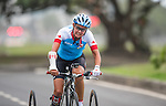 Shelley Gauthier, Rio 2016 - Para Cycling // Paracyclisme. <br /> Shelley Gauthier competes in the Women's Cycling Road T1-2 Race // Shelley Gauthier participent à la course cycliste féminine T1-2 sur route. 16/09/2016.