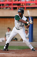Southwest Michigan Devil Rays J.T. Hall during a Midwest League game at C.O. Brown Stadium on July 14, 2006 in Battle Creek, Michigan.  (Mike Janes/Four Seam Images)