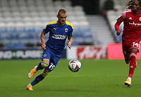 Shane McLoughlin of AFC Wimbledon during AFC Wimbledon vs Accrington Stanley, Sky Bet EFL League 1 Football at The Kiyan Prince Foundation Stadium on 3rd October 2020