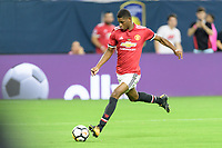 Houston, TX - Thursday July 20, 2017: Marcus Rashford during a match between Manchester United and Manchester City in the 2017 International Champions Cup at NRG Stadium.
