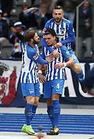 Marvin Plattenhardt, Karim Rekik 2:0, Vedad Ibisevic  / Football: Germany, 1. Bundesliga, Hertha BSC - Hamburger SV (HSV), Berlin - 28.10.2017 *** Local Caption *** © pixathlon +++ tel. +49 - (040) - 22 63 02 60 - mail: info@pixathlon.de