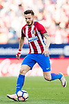 Saul Niguez Esclapez of Atletico de Madrid in action during their La Liga match between Atletico de Madrid and Sevilla FC at the Estadio Vicente Calderon on 19 March 2017 in Madrid, Spain. Photo by Diego Gonzalez Souto / Power Sport Images
