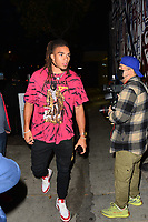 Chase Claypool Has Dinner At Catch In Hollywood