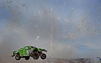 Mar. 19, 2011; Chandler, AZ, USA;  LOORRS pro two driver Nick Tyree during round one at Firebird International Raceway. Mandatory Credit: Mark J. Rebilas-