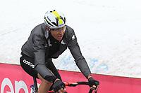 24th May 2021, Giau Pass, Italy; Giro d'Italia, Tour of Italy, route stage 16, Sacile to Cortina d'Ampezzo ; 203 FRANKINY Kilian SUI