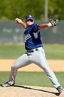 Jacob McCarter - Los Angeles Dodgers - 2009 spring training.Photo by:  Bill Mitchell/Four Seam Images
