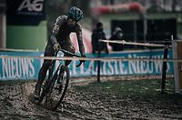 Kevin Pauwels (BEL/Marlux-Napoleon Games)<br /> <br /> Elite Men's Race<br /> CX Vlaamse Druivencross Overijse 2017