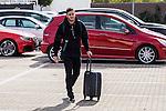 Spainsh Koke Resurrecion arriving at the concentration of the spanish national football team in the city of football of Las Rozas in Madrid, Spain. November 08, 2016. (ALTERPHOTOS/Rodrigo Jimenez)