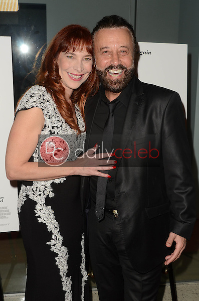 "Dame Nicole Brandon, Yakov Smirnoff<br /> at ""The Comedian"" Los Angeles Premiere, Pacific Design Center, West Hollywood, CA 01-27-17<br /> David Edwards/DailyCeleb.com 818-249-4998"