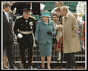 24/05/2002                   Copyright Pic : James Stewart.File Name : stewart-queen falkirk  03.QUEEN ELIZABETH II GOES ON WALK ABOUT WITH PRINCE PHILIP AT THE FALKIRK WHEEL.....Payments to :-.James Stewart Photo Agency, 19 Carronlea Drive, Falkirk. FK2 8DN      Vat Reg No. 607 6932 25.Office     : +44 (0)1324 570906     .Mobile  : +44 (0)7721 416997.Fax         :  +44 (0)1324 570906.E-mail  :  jim@jspa.co.uk.If you require further information then contact Jim Stewart on any of the numbers above.........