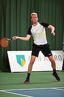 Januari 24, 2015, Rotterdam, ABNAMRO, Supermatch, Diwon de Haan<br /> Photo: Tennisimages/Henk Koster