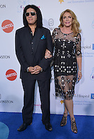 Gene Simmons + Shannon Tweed @ the 4th annual Kaleidoscope ball held @ 3LABS.<br /> May 21, 2016