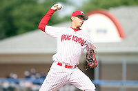 August 20th, 2007:  Brian Broderick of the Batavia Muckdogs, Short-Season Class-A affiliate of the St. Louis Cardinals at Dwyer Stadium in Batavia, NY.  Photo by:  Mike Janes/Four Seam Images